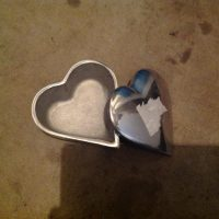 Silver Heart Boxes